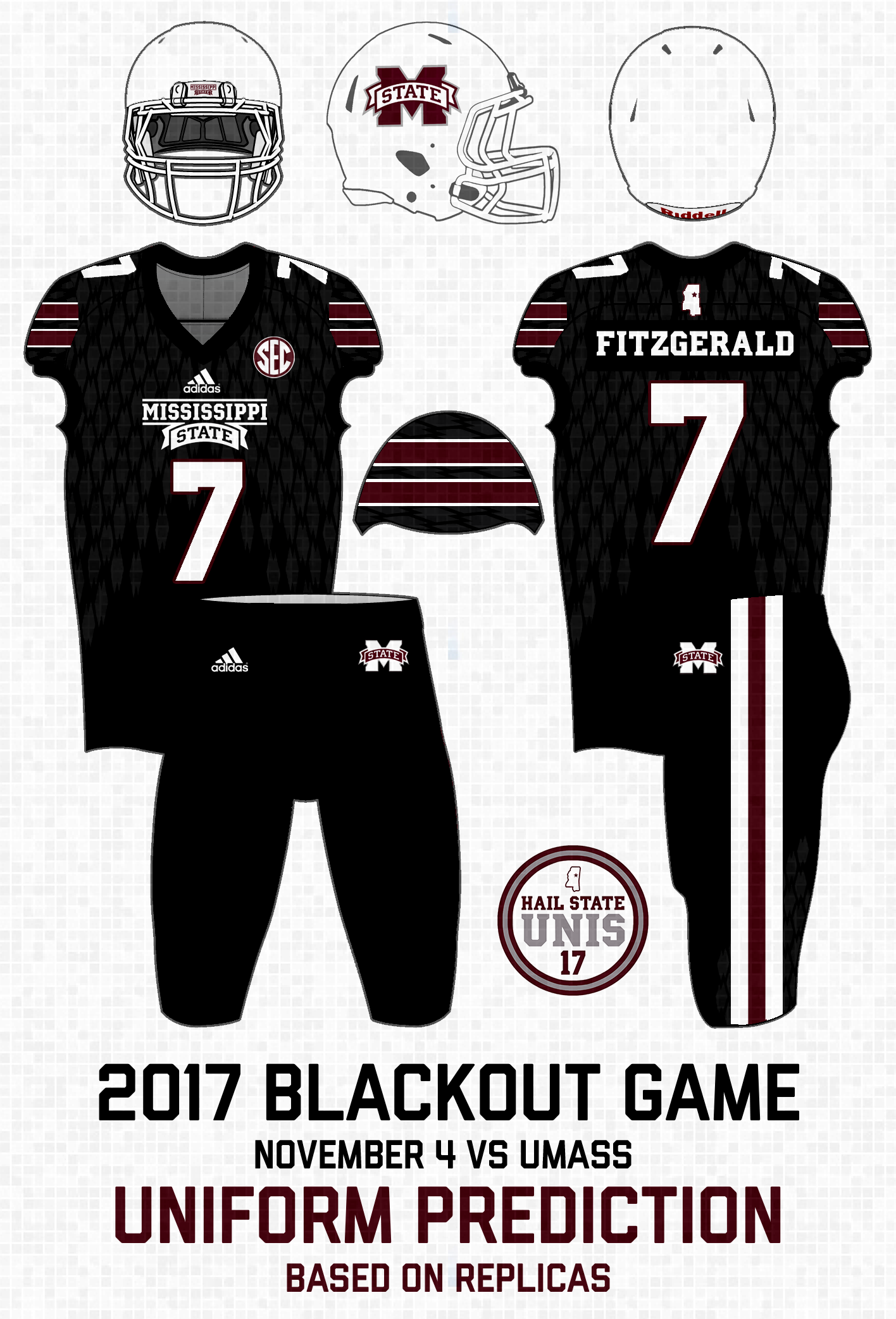 ... actually match the 2017 maroon and white jerseys) 56c9977bd