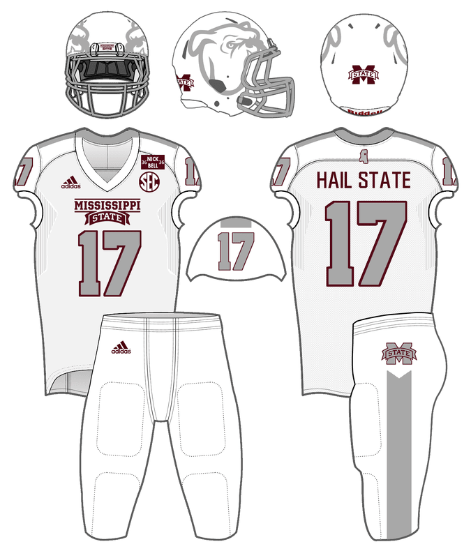 The Curse of the Special White Uniforms  - Hail State Unis 4c6c9ed42