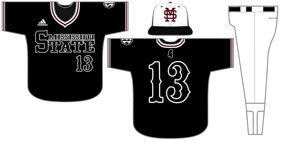 The second black jersey design in school history 8081e243a